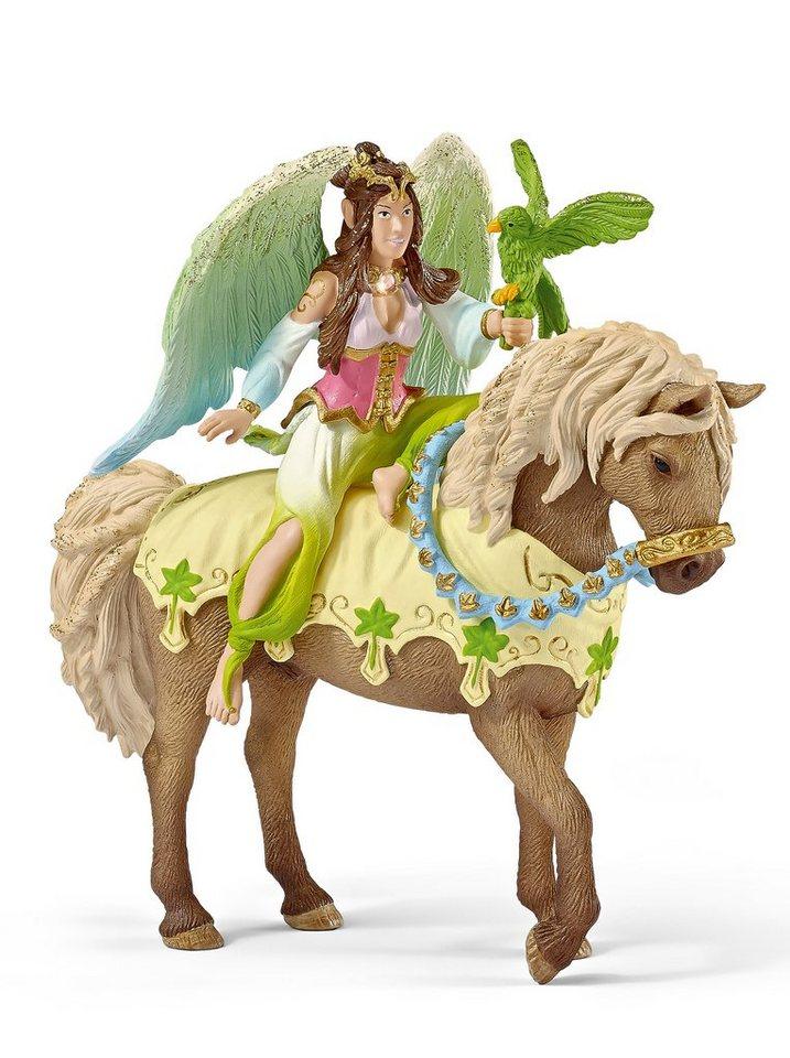 Schleich® Spielfigur, »World of Fantasy bayala - Surah in festlicher Kleidung, reitend«
