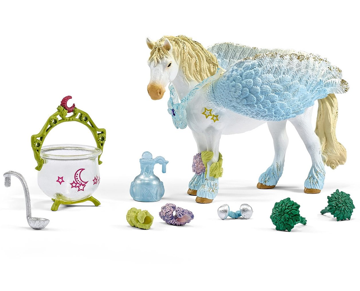 Schleich® Spielfiguren-Set, »World of Fantasy bayala - Heilungsset, groß«