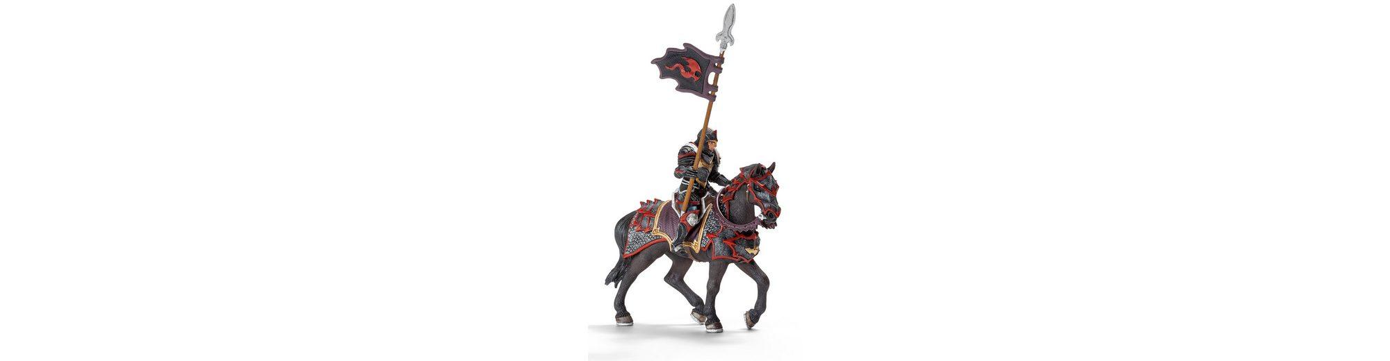 Schleich® Spielfiguren (70102), »Eldrador, Drachenritter König Takrok zu Pferde mit Lanze