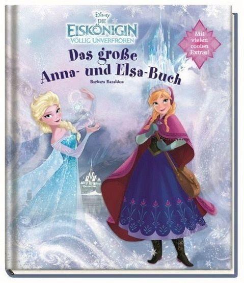 Gebundenes Buch »Disney Die Eiskönigin: Das große Anna- und...«