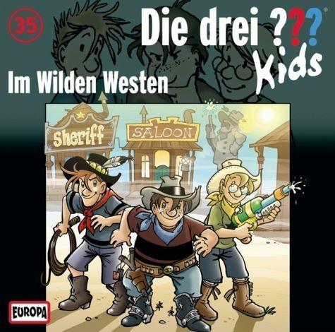 Audio CD »Die drei ??? Kids: Im wilden Westen / Die drei...«