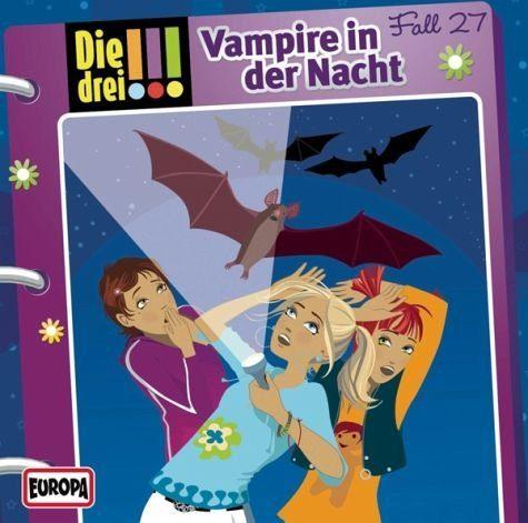 Audio CD »Die drei !!!: Vampire in der Nacht / Die drei...«