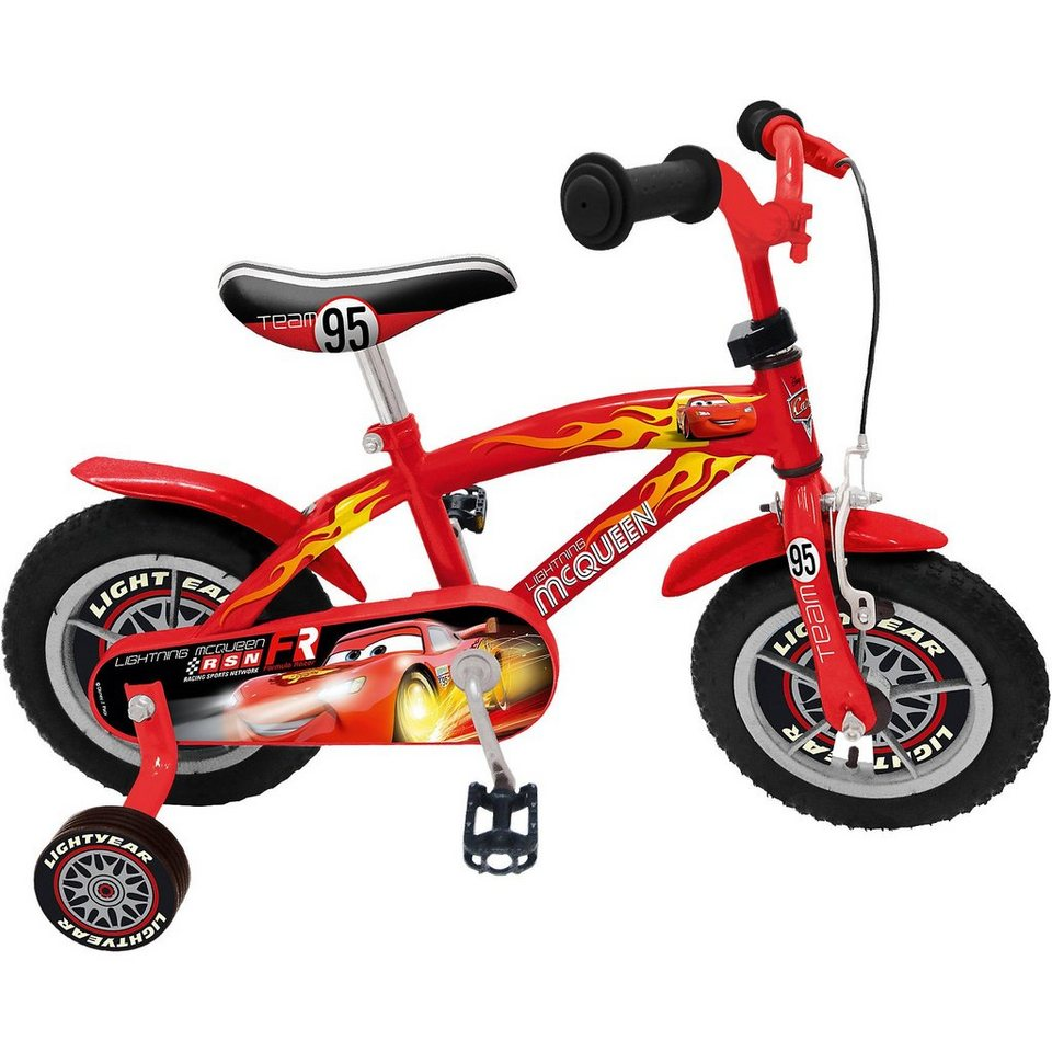 Stamp Cars Kinderfahrrad, 12 Zoll in rot