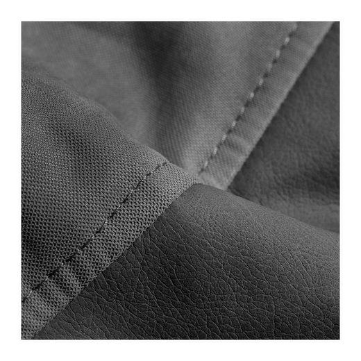 Sitzsack Easy  Kunstleder/Flachgewebe  anthrazit