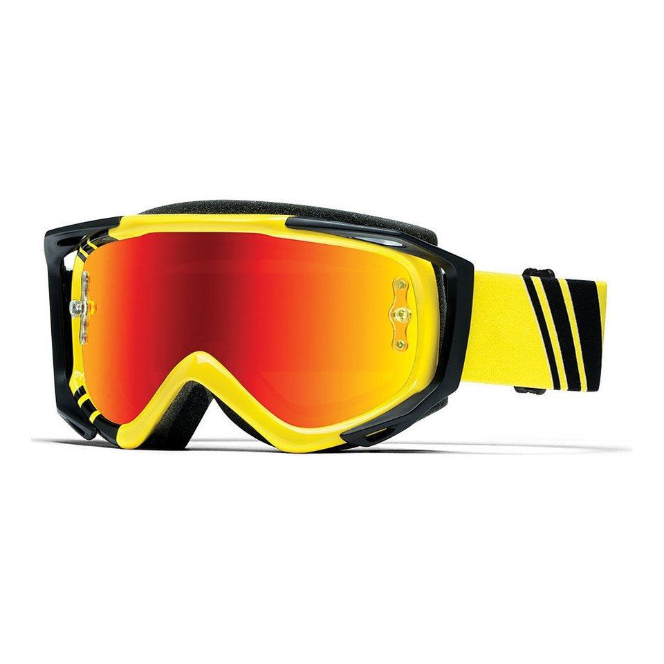 Smith Radsportbrille »Optics Fuel V.2 Sweat-X M Goggles« in gelb