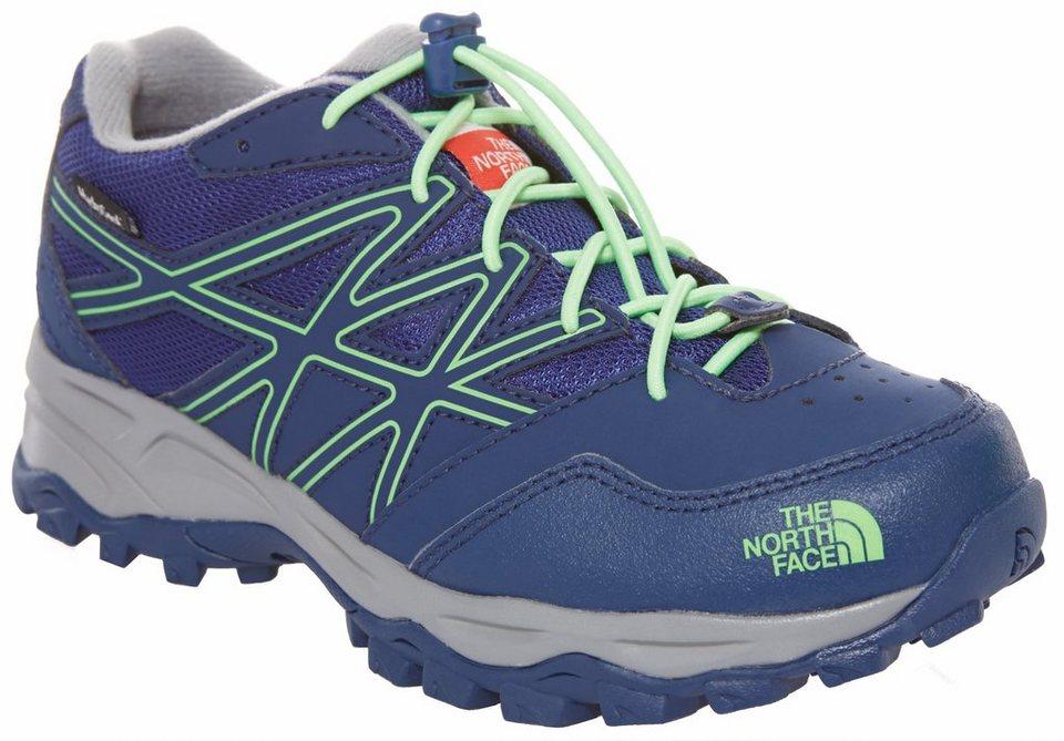 The North Face Halbschuhe »Hedgehog Hiker Waterproof Shoes Boys« in blau