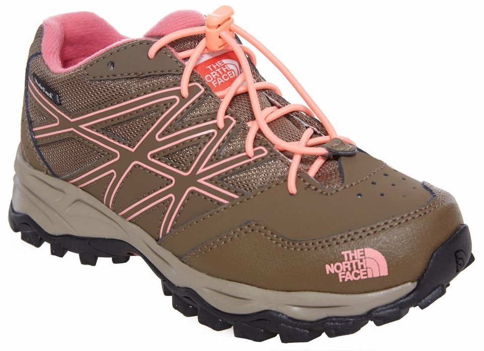 The North Face Halbschuhe »Hedgehog Hiker Waterproof Shoes Girls« in braun