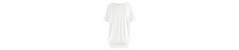 LASCANA Strandshirt Billig Rabatt Authentisch Billig Verkauf Niedriger Versand Steckdose Online mb3SBvRD
