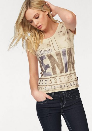 Arizona Print-Shirt DENIM
