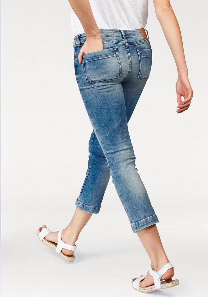 Marc O'Polo DENIM 7/8-Jeans in 7/8 Form in light-blue+light-blue
