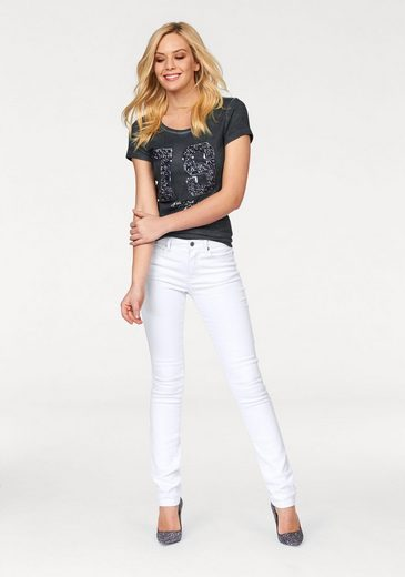 Arizona Front Shirt With Sequins, In Glamor-sporty-look