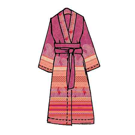 Kimono, Bassetti, »Tiziano«, mit verschiedenen Mustern