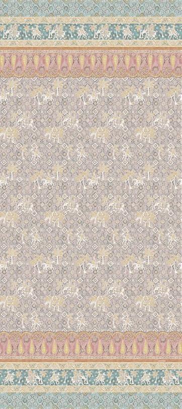 Tagesdecke, Bassetti, »Jasmine«, mit orientalischen Motiven in beige