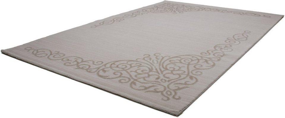 Orient-Teppich, Lalee, »Destan 646«, gewebt in creme