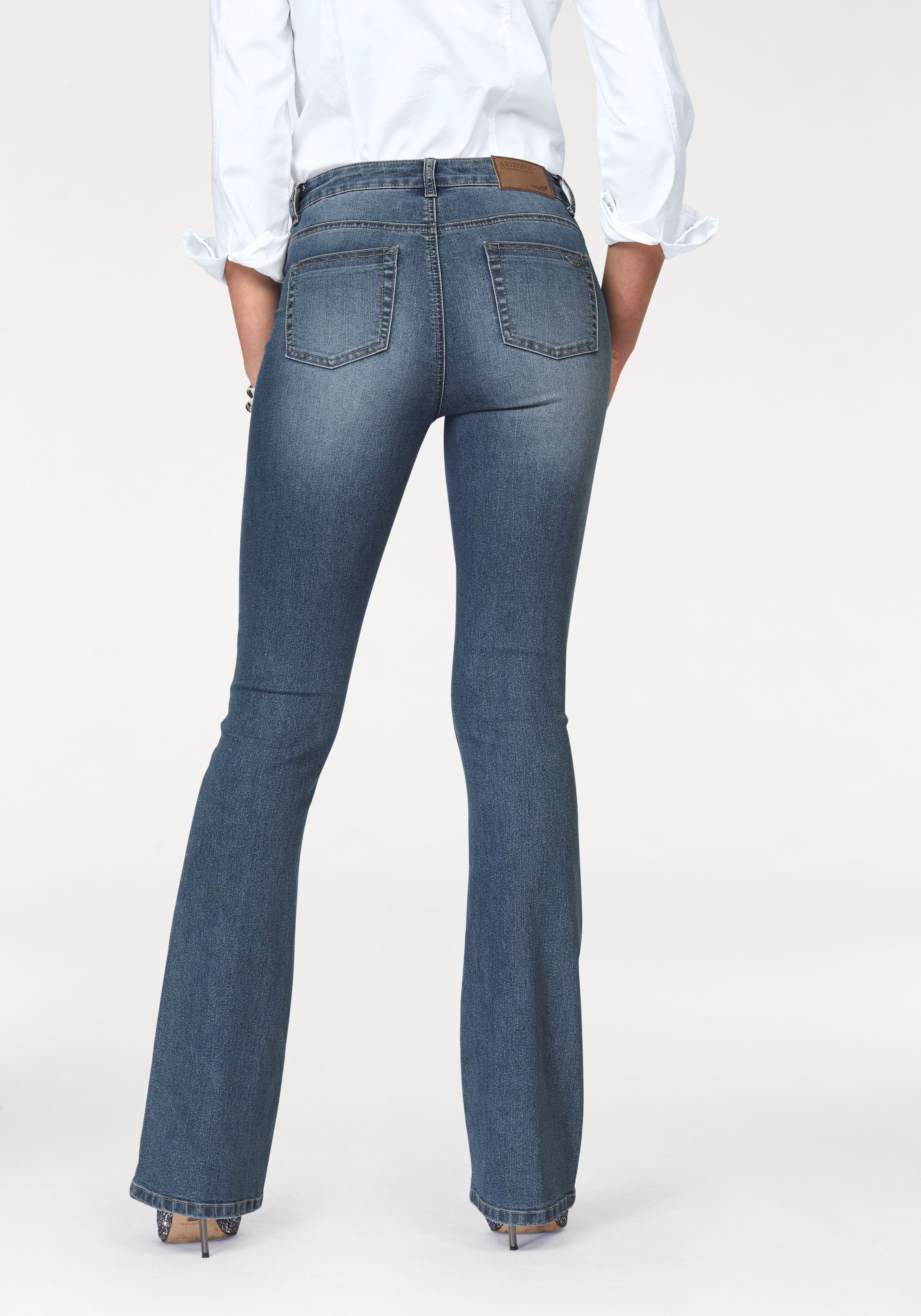 Arizona Bootcut Jeans »Shaping« High Waist kaufen   OTTO