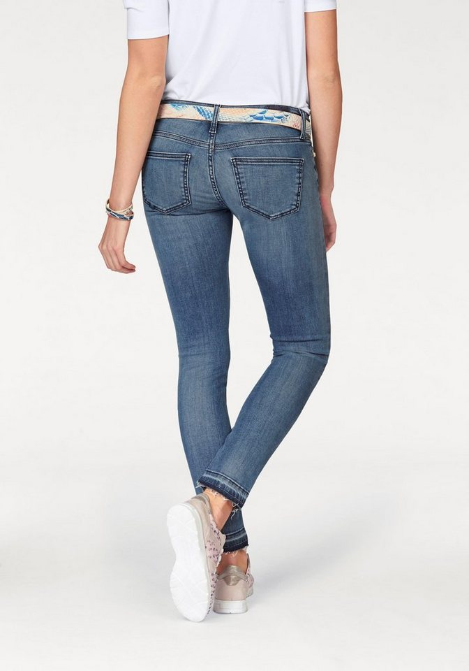 Rich & Royal Skinny-fit-Jeans in blue-used