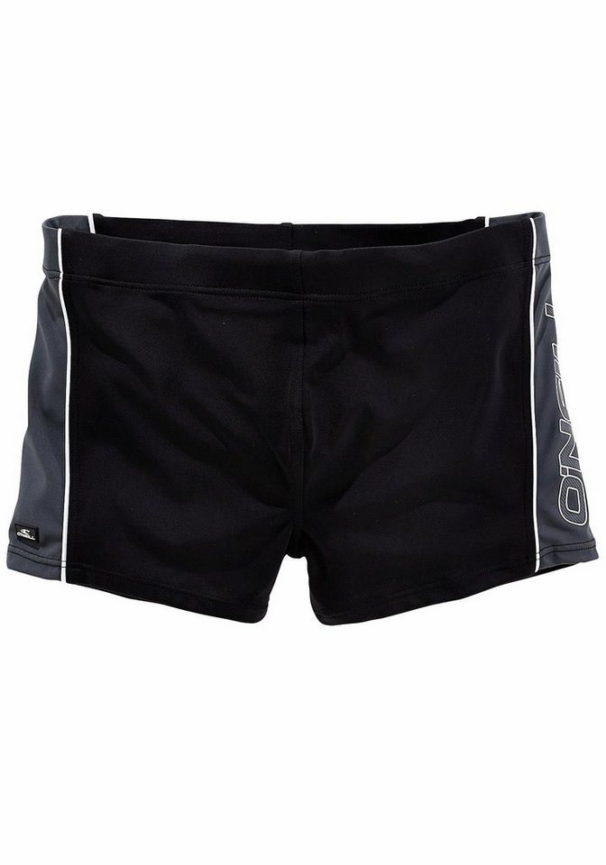 O' Neill Boxerbadehose in schwarz