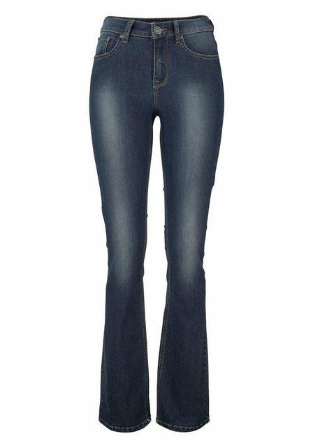 Arizona Bootcut-Jeans »Shaping« High Waist | Bekleidung > Jeans > Bootcut-Jeans & Schlagjeans | Arizona