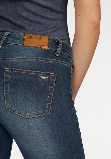Arizona Bootcut-Jeans Shaping, High Waist