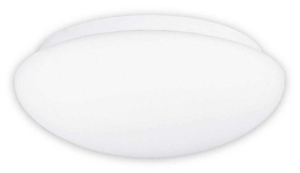 Näve LED-Deckenleuchte mit Sensor in Metall, Glas - weiß