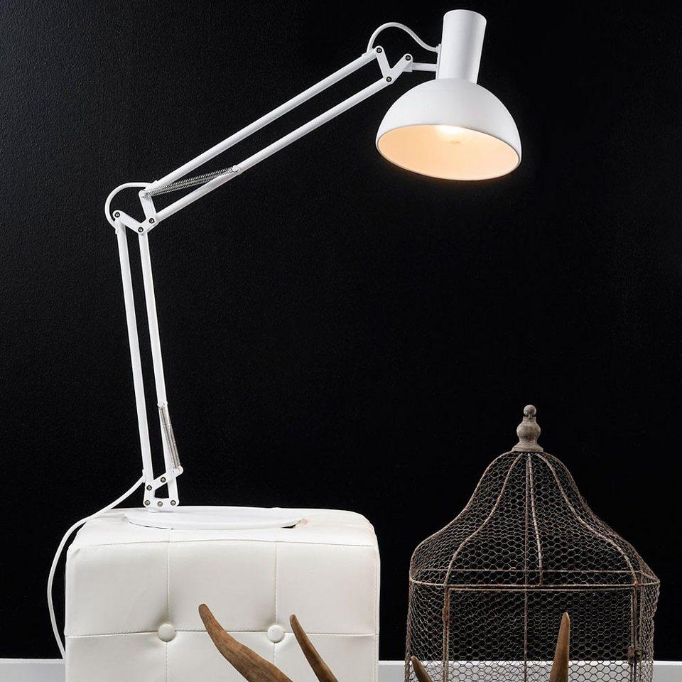 Licht-Trend Tischleuchte »Tischleuchte Retro« in Weiß