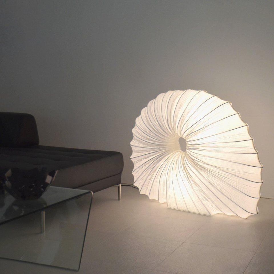 s.LUCE Stehleuchte »BigVirgo Slug XXL 120 cm in Weiss« in Weiß