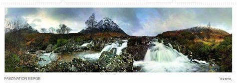 Kalender »Faszination Berg Panoramakalender, immerwährend«