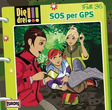 Audio CD »Die drei !!!: SOS per GPS / Die drei...«