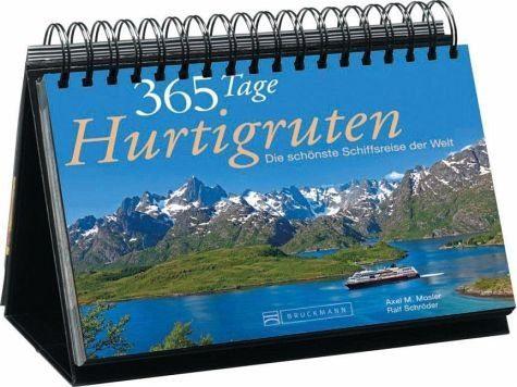 Kalender »365 Tage Hurtigruten Tischaufsteller«