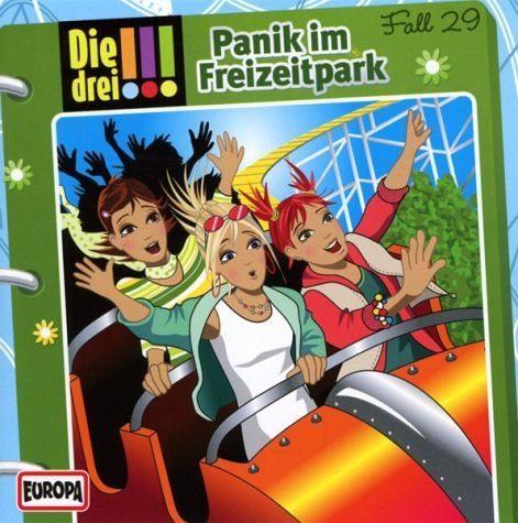 Audio CD »Die drei !!!: Panik im Freizeitpark / Die drei...«