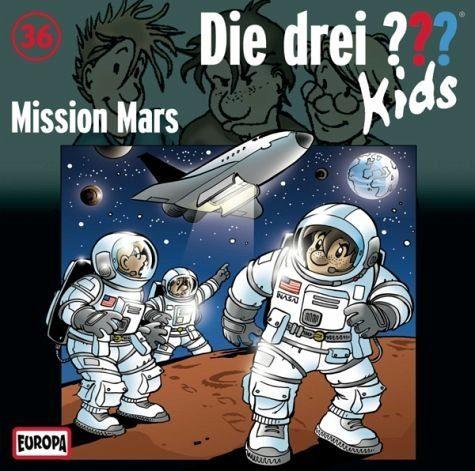 Audio CD »Ulf Blanck: Mission Mars / Die drei...«
