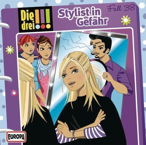 Audio CD »Die drei !!!: Stylist in Gefahr / Die drei...«