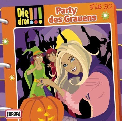 Audio CD »Die drei !!!: Party des Grauens / Die drei...«