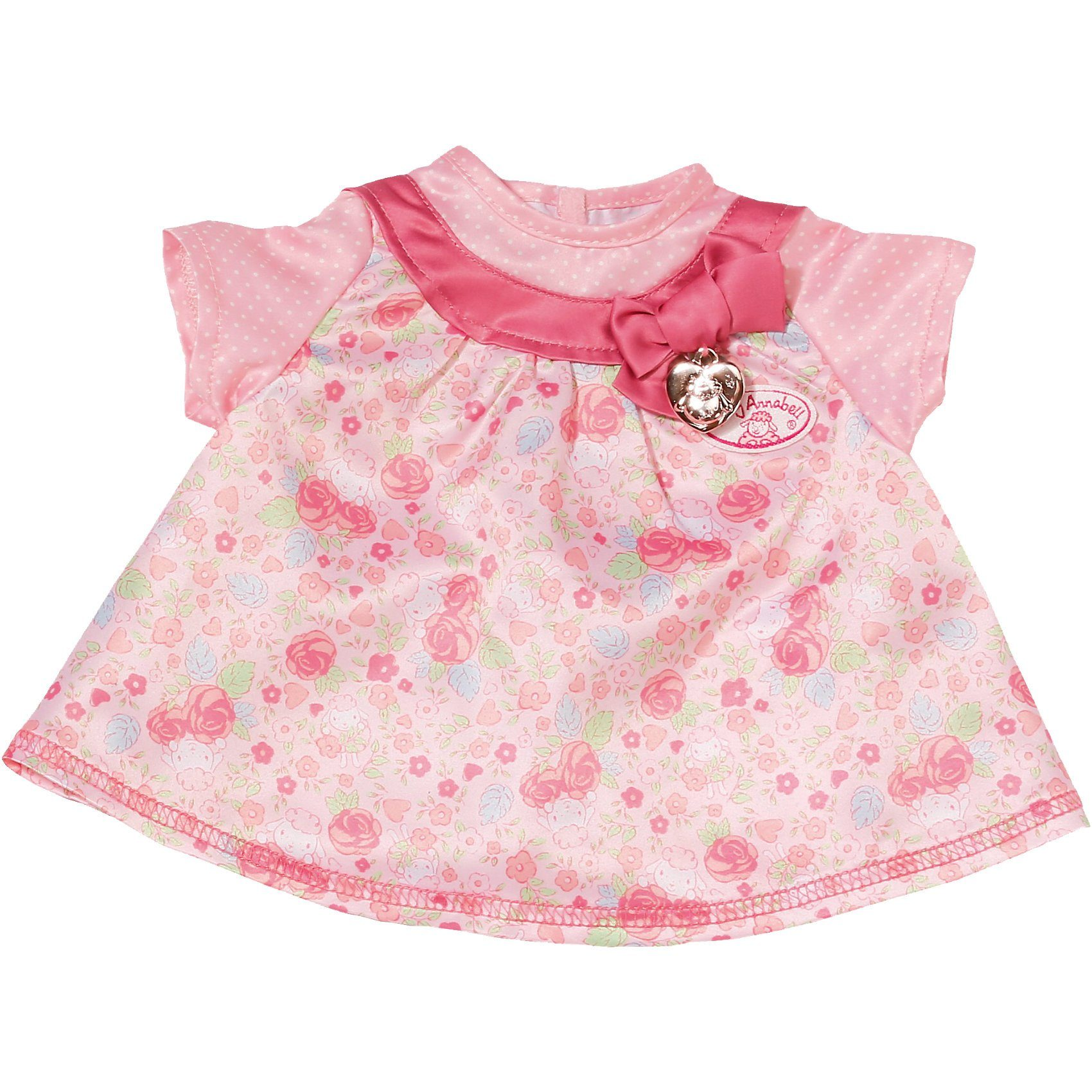 Zapf Creation Baby Annabell® Puppenkleidung rosa Kleid, 46 cm