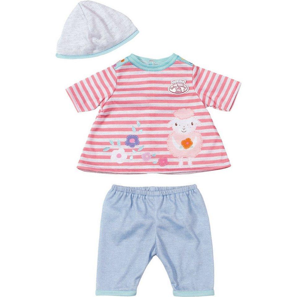 Zapf Creation my first Baby Annabell® Spiel-Outfit gestreiftes Shirt, 36 c