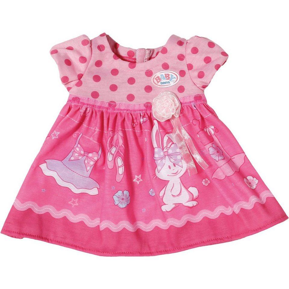 Zapf Creation BABY born® Puppenkleidung Kleid mit Häschen, 43 cm