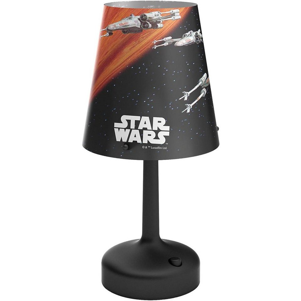 Philips Lighting Tragbare LED Nacht-/Tischleuchte Star Wars X-Wing in schwarz