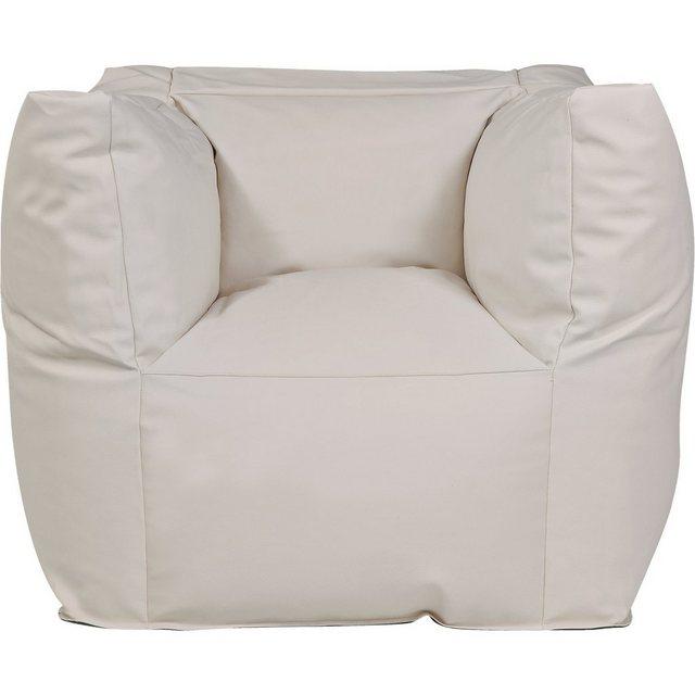 OUTBAG Valley Outdoor-Sessel Sitzsack deluxe skin kiesel (beige)