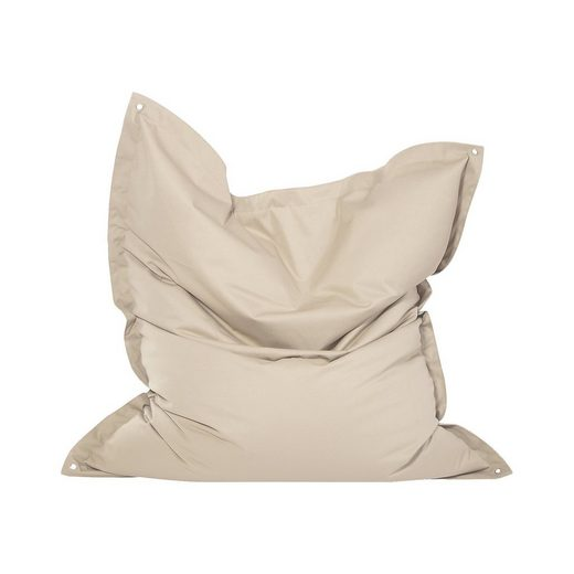 Outdoor-Sitzsack Meadow, Plus, beige