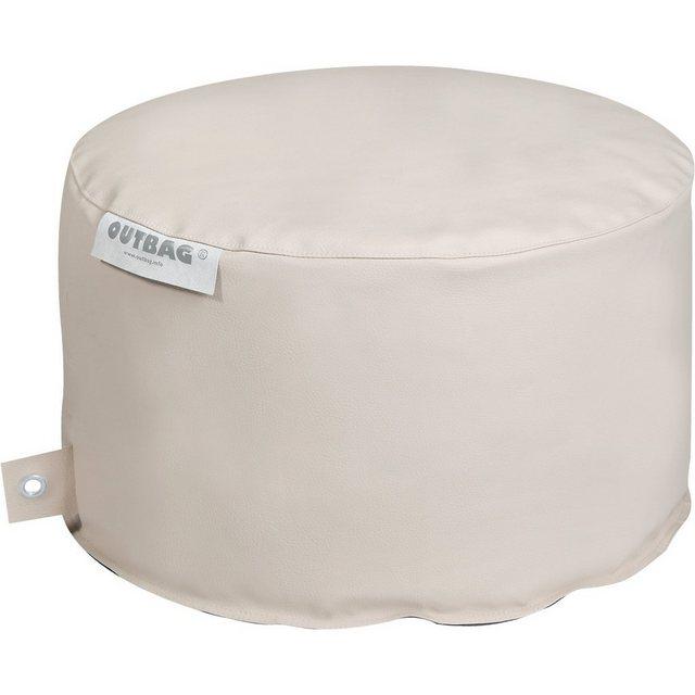 OUTBAG Rock Sitzsack Hocker Tisch deluxe skin kiesel (beige)