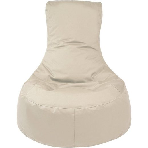 Outdoor-Sitzsack Slope, Plus, beige