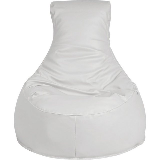 OUTBAG Slope Outdoor-Sessel Sitzsack deluxe skin weiß