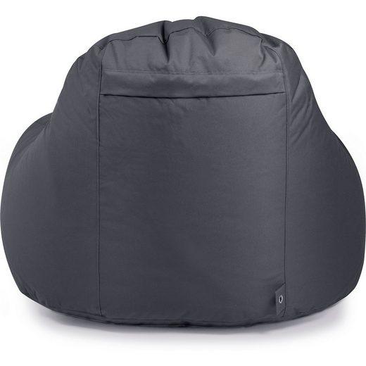 Outdoor-Sitzsack Slope XL  Plus  anthrazit