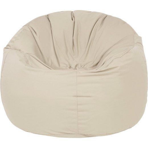 Outdoor-Sitzsack Donut, Plus, beige