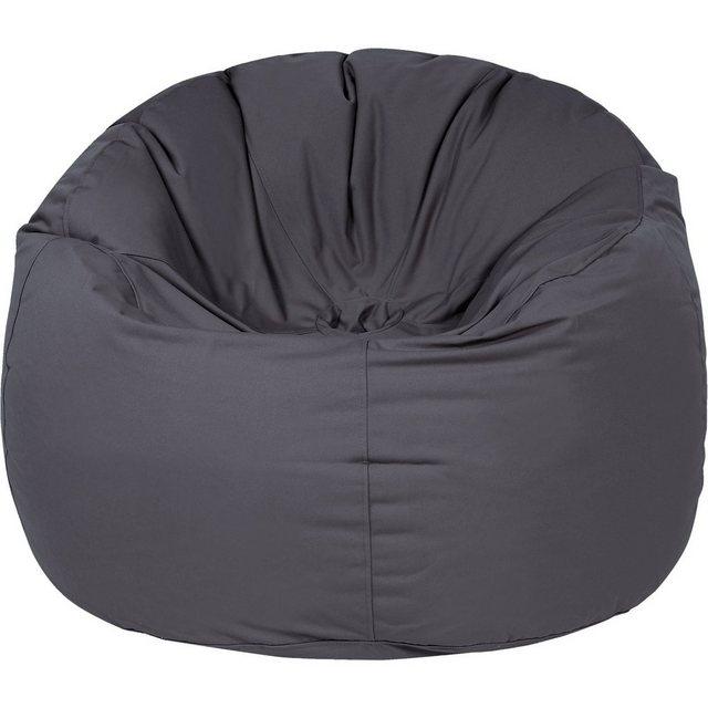OUTBAG Donut Outdoor-Sessel Sitzsack plus anthrazit (1 Stück)