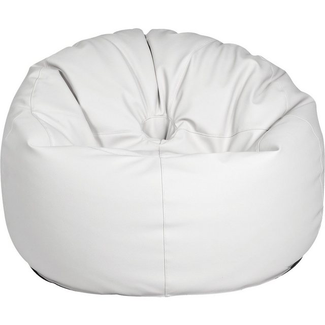 OUTBAG Donut Outdoor-Sessel Sitzsack deluxe skin weiß