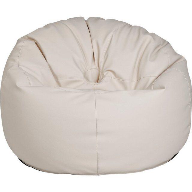OUTBAG Donut Outdoor-Sessel Sitzsack deluxe skin kiesel (beige)