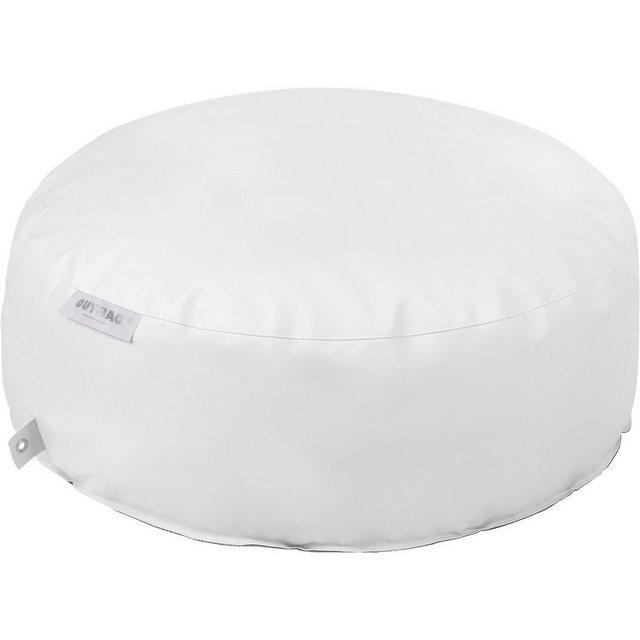OUTBAG Cake Sitzsack Hocker Tisch deluxe skin weiß