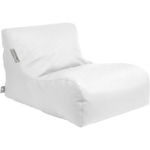 OUTBAG Outdoor-Sitzsack New Lounge, Light, weiß
