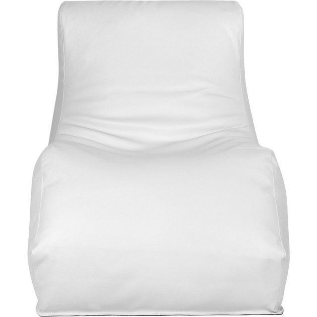 OUTBAG Wave Outdoor-Liege Sitzsack deluxe skin weiß